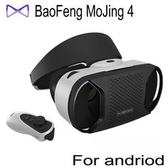 "78.00$  Watch now - http://alir7m.worldwells.pw/go.php?t=32690079393 - ""Baofeng Mojing 4 IV Virtual Reality 3D VR Glasses Helmet for 4.7~5.5"""" Android Smartphone Android Virtual Video Glasses"" 78.00$"
