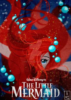 One of my assignments in recent weeks: Posters for all the Disney Classics. I will upload all over these weeks. Hope you like ^^ Walt Disney Class. Disney Classics 28 The Little Mermaid Disney Pixar, Walt Disney, Disney Fan Art, Disney Animation, Disney And Dreamworks, Disney Love, Disney Magic, Ariel Disney, Mermaid Disney