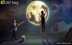 Or che i sogni e le speranze si fan veri come fiori, sulla Luna e sulla Terra fate largo ai sognatori! (Gianni Rodari)