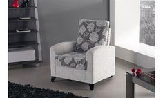 Shiito les ofrece la oportunidad de disponer de un sillón moderno y cómodo que podrá adaptar a su salón sin problemas. Combina tela lisa con un bonito estampado en respaldo y asiento. No lo piense más y disfrute de este fantástico sillón.