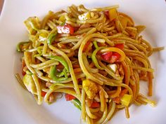 Asiatischer Nudelsalat Asian Pasta Salad (recipe with picture) by Asian Pasta Salads, Best Pasta Salad, Pasta Salad Italian, Indian Food Recipes, Asian Recipes, Indian Snacks, Chef Salad Recipes, Fruit Recipes, Asian Noodles