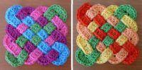 Crochet Celtic Coasters Pattern
