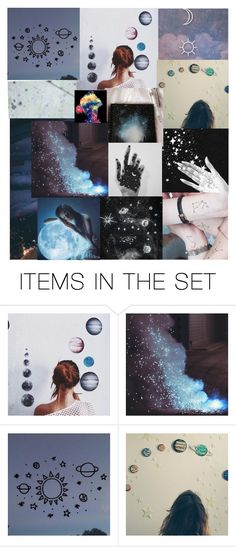 """I'm in love with a star girl"" by mcsalvetti ❤ liked on Polyvore featuring art"
