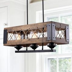 LNC Home is one of the top Island Lighting provider in USA. We offer farmhouse island lighting, kitchen island lighting fixtures, French country island lighting, rustic kitchen island lighting, etc. Rustic Pendant Lighting, Island Pendant Lights, Wood Chandelier, Kitchen Island Lighting, Dining Room Lighting, Home Lighting, Light Pendant, Country Chandelier, Lighting Ideas