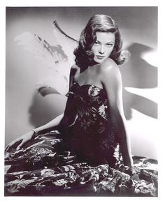 Can't take my eyes off you — Gene Tierney