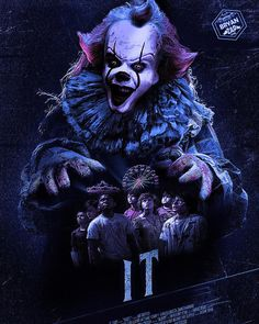 IT - Eso by Bryanzap on DeviantArt Clown Horror, Arte Horror, Horror Art, Horror Movies, Horror Villains, Le Clown, Creepy Clown, Stephen King Movies, Stephen Kings