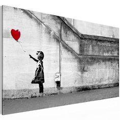 "Bilder & Kunstdrucke Prestigeart, 3016140a "" THERE IS ALWAYS HOPE "" by Banksy Reproduction Bild auf Leinwand XXL"