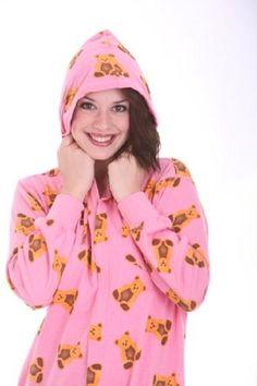 3e242d86a8 ... Ti Voglio - Screen Print Cotton Sleepshirt  new concept 861c5 e1219  Funzee Adult Onesie Cotton Pajama Suit