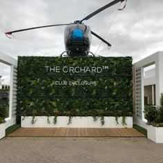 Race week has finally arrived at Cheltenham Racecourse and our structures are ready to welcome you!  Enjoy sipping a glass of #champagne in our Moet and Chandon circulus bar, or enjoy a cocktail or two at the Partners Bar in the Orchard...……..yes! it does have a helicopter on the roof!  Wishing you all the very best of luck with your bets and an overall wonderful festival experience.