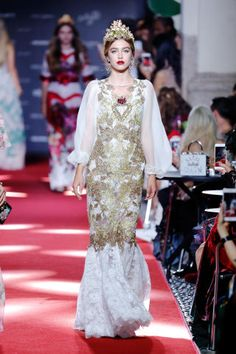 The catwalk line-up featured the Amber Le Bon, Thylane Blondeau and Ella Richards