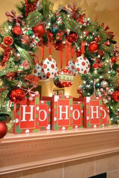 Christmas.  ........could work on mantle-half wreath with other decorations