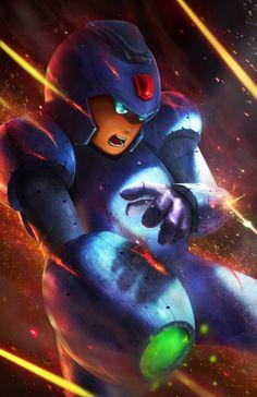 Mega-man #Gaming #Art