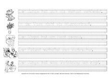 Lesen-Zuordnen-Schreiben - Grundschulmaterial-Fibel - Deutsch Klasse 1 - Grundschulmaterial.de 34c, Sheet Music, First Grade, Primary School, Writing, Deutsch, Music Sheets