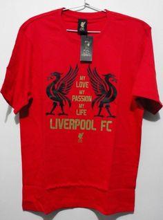 $25.32 OFFICIAL Merchandise LFC Liverpool T-Shirt (Size L - Asian) #PlanetSport #BasicTee