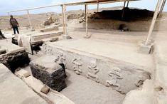 Las 30 figuras fueron encontradas en Vichama, un sitio arqueológico cercano a Huacho. Noticias de Espectáculos La Prensa