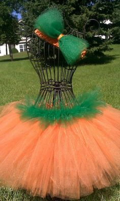 Pumpkin Tutu Costume would be really cute paired with a corset!