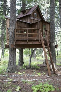 How To Make A Simple Treehouse Hope Grandma Can Make This! My