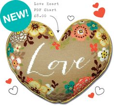 New! Love Heart PDF Chart from felicityhall.co.uk