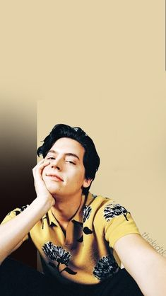 Cole Sprouse lockscreen