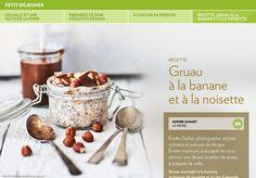 Les mille et une nuits de l'avoine - La Presse+ Oatmeal, Brunch, Breakfast, Tableware, Kitchen, Food, Banana, Grits Recipe, Kitchens
