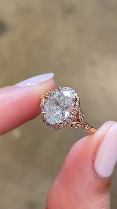 Vintage Inspired Engagement Rings, Dream Engagement Rings, Diamond Girl, Oval Diamond, Bridal Rings, Wedding Ring Bands, Gold Set, Antique Rings, Ring Designs