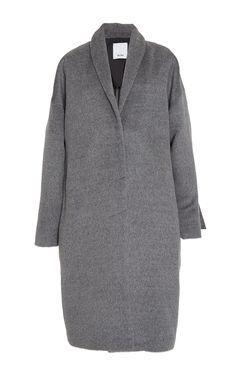 Rae Wool Coat by ACLER for Preorder on Moda Operandi