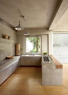 Home Interior Design, House Interior, Home, House, Interior Design Rustic, Kitchen Design, Minimalist Kitchen, Interior Architecture, Minimalist Kitchen Design