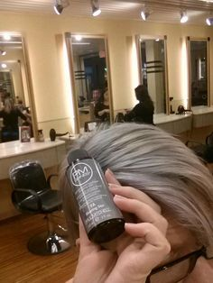 For those of you wanting to know how to get silver hair...