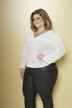 Plus Size - Blusa Anne Brilho