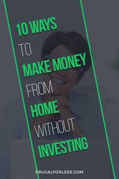 A list of how to make money from home without investing in 2019 in 10 easy ways. Earn money from home without a startup cost. Make Money Today, Earn Money From Home, Way To Make Money, How To Make, Online Surveys For Money, Make Money Online, Investing Money, Saving Money, Single Mom Jobs