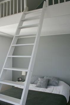 prachtige slaapkamer met vide in de villa te bilthoven, Deco ideeën