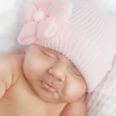 So cute I could cry! This newborn baby hat from Melondipity.com is adorable. Price: $20.99