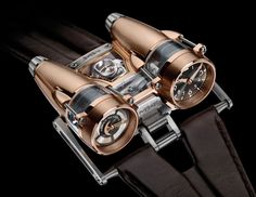 The Horological Machine No4 (HM4) from MB bears its aviation inspiration with pride. www.albertalagrup.com