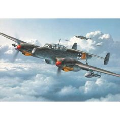 Messerschmidt Bf-110 G-2 Was a fast aircraft (340 m.p.h.) but suffered from small allied fighters like the p-51 mustang.It also had engine problems,