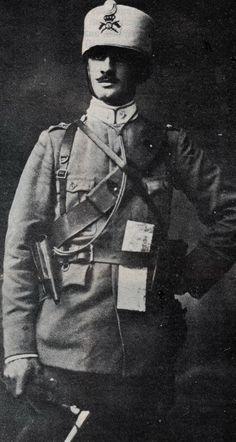 "WWI. Royal Italian Army. 1915 - Italian Cavalry, Captain Augusto Moroder, 5th  Regiment ""Lancieri of Novara"""