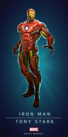 Iron Man Model-35 Poster-01
