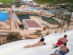 Magic Natura waterpark in Benidorm, Costa Blanca - Spain.