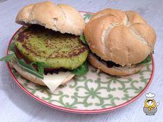 Hamburguesas vegetales de calabacín y guisantes - Vuelta y Vuelta