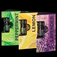 De Forever Tri-Pack bevat 5 ml sample flesjes van alle drie de single notes: Lemon, Peppermint en Lavender. Ervaar het beste dat de natuur te bieden heeft en ontdek uw favorieten.   In de mooie verpakking met bijbehorende gratis brochure is het een prachtig cadeau om te krijgen én te geven!