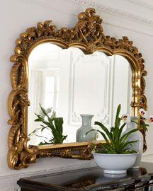 baroque mirror  #home #decor