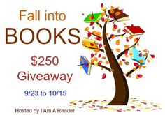 Fall into Books $250 Giveaway