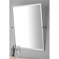 Contemporary Tilting Bathroom Mirrors Mirror V With Decorating From Swivel