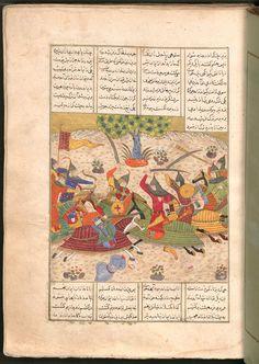 Firdausī: Šāhnāma - BSB Cod.pers. 8. - Iran, 1497 [902 h.] 49 Bayerische Staatsbibliothek