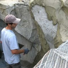 Sculpture Ornementale, Concrete Sculpture, Small Apartment Bedrooms, Small Apartments, Loft Design, Wall Design, Fake Rock, Architectural Sculpture, Creation Photo