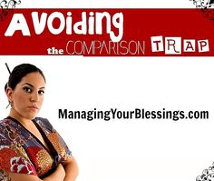 Christian women can live joyfully by avoiding the comparison trap. :: ManagingYourBlessings.com