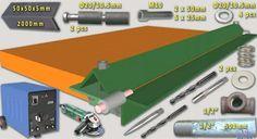 Sheetmetal Brake by kess -- SheetMetal Brake Free full set Plans and materials…