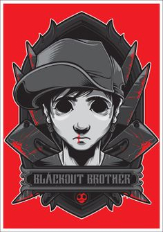 Charlie the Blackout Brother on Behance