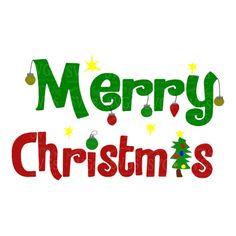 SVG - Merry Christmas - Ornaments - Christmas Tree - Holiday Sentiment - Christmas Sentiment - Christmas Decor - Card Design - Shirt Design