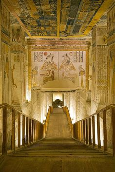 Tomb of Ramses VI, Egypt. I've visited this tomb. It's amazing!