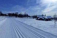 Cross country trails lead away from the village Holidays In Norway, Winter Holidays, Jotunheimen National Park, Mountain Village, Winter Snow, Highlands, Cross Country, Cosy, Skiing